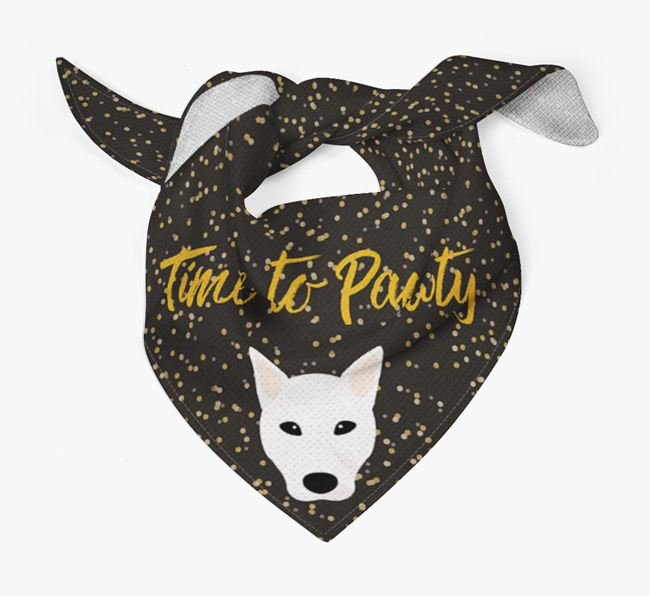 'Time to Pawty' Canaan Bandana