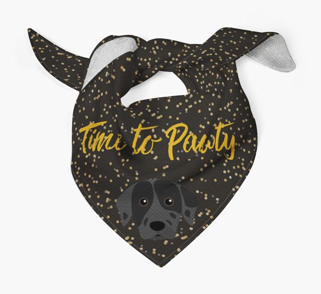 'Time to Pawty' Catahoula Bandana