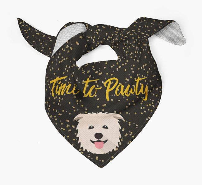 'Time to Pawty' Glen Of Imaal Bandana