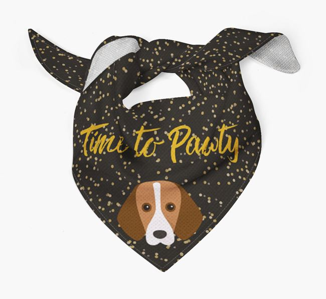 'Time to Pawty' Harrier Bandana