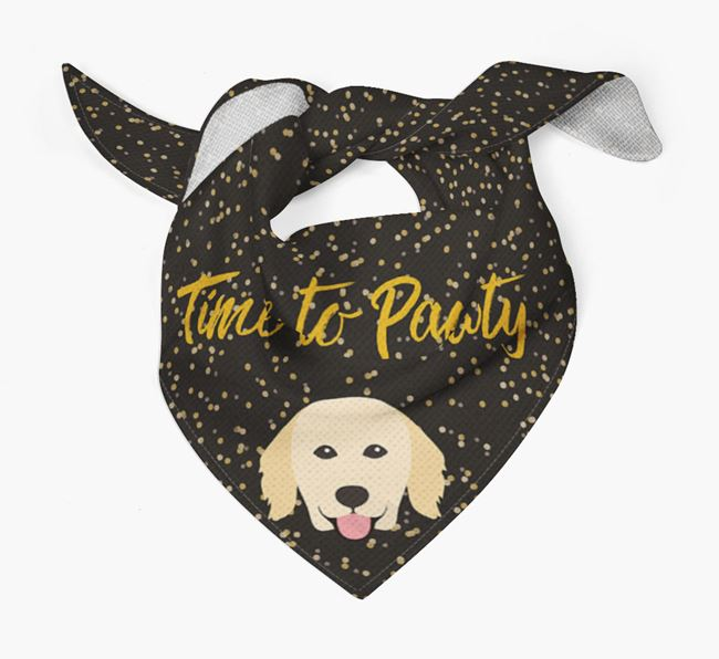 'Time to Pawty' Hovawart Bandana