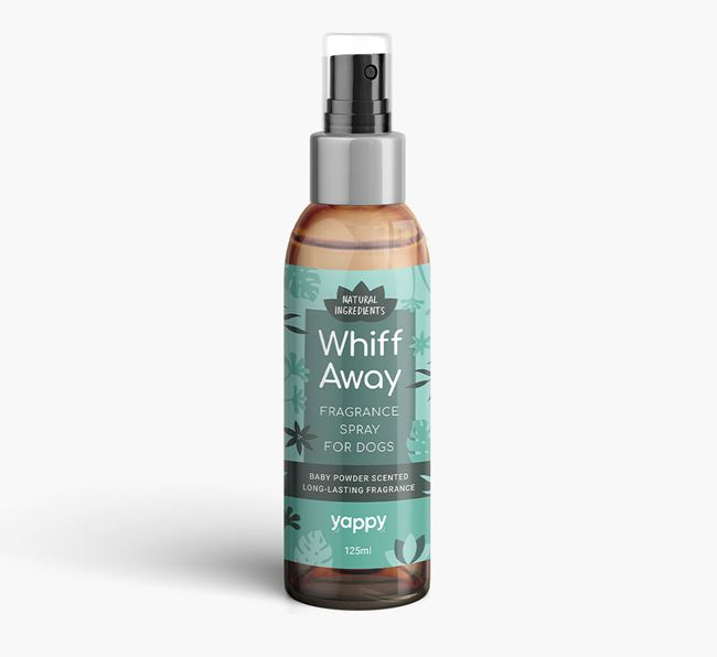 'Whiff Away' Fragrance Spray for your Bearded Collie