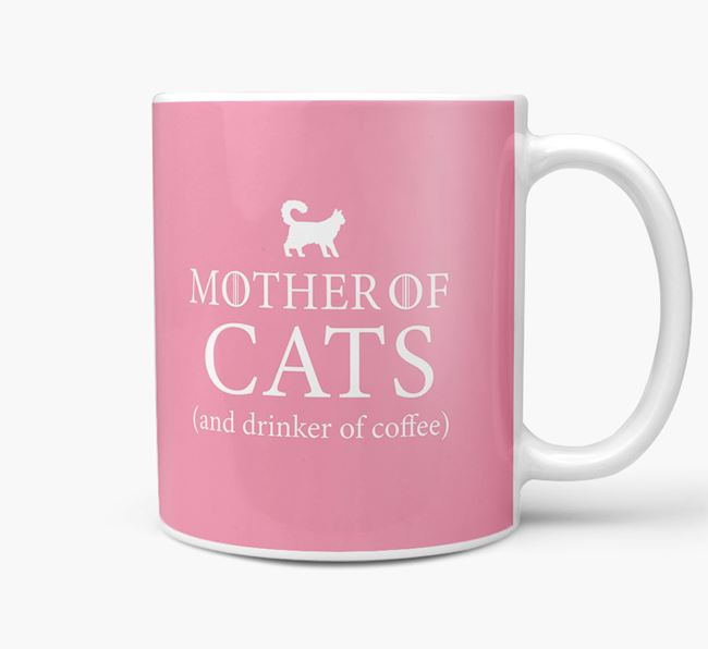 'Mother of Dogs' - Personalised Cat Mug