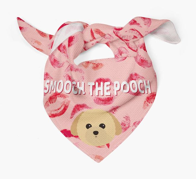 'Smooch The Pooch' Toy Poodle Bandana