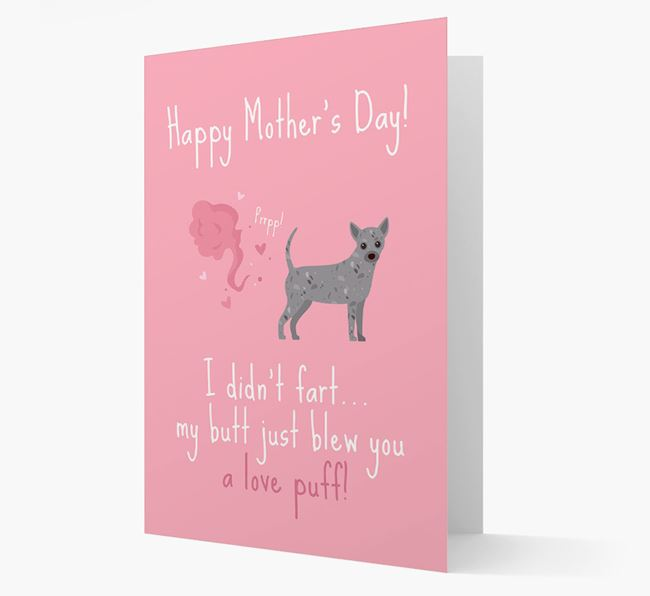 'Love Puff' - Personalized Chihuahua Card