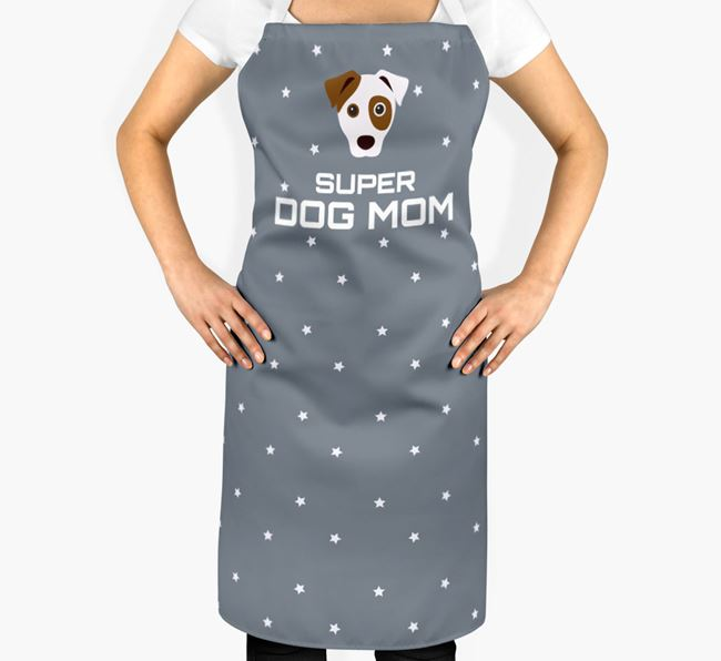 'Super Dog Mom' - Personalized Dog Apron