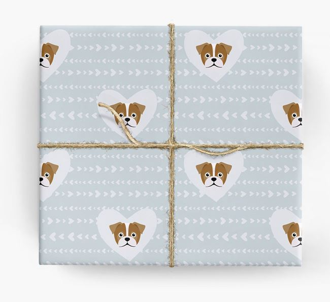'Hearts' Wrapping Paper with Jug Yappicons