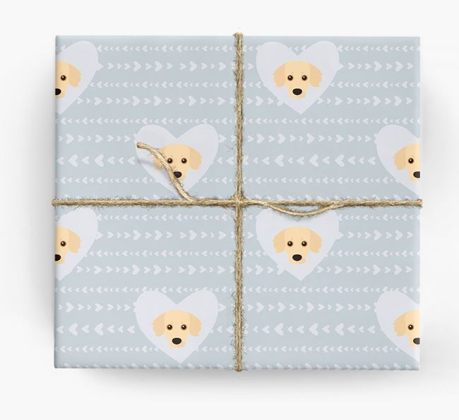 'Hearts' Wrapping Paper with Kokoni Yappicons