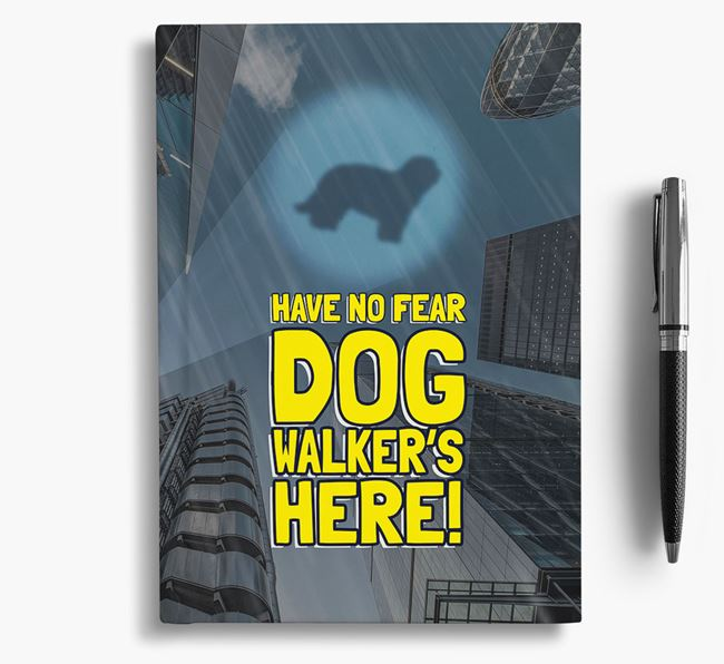 'Have No Fear' - Personalized Catalan Sheepdog Notebook