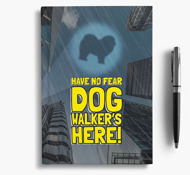 'Have No Fear' - Personalized Chow Chow Notebook