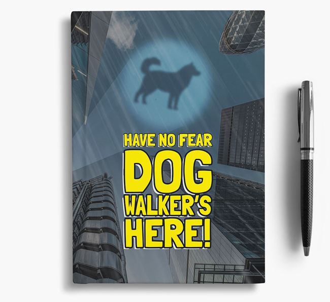 'Have No Fear' - Personalized Goberian Notebook