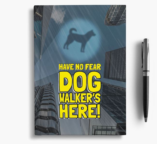 'Have No Fear' - Personalized Korean Jindo Notebook