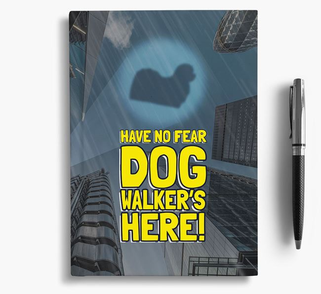 'Have No Fear' - Personalized Maltese Notebook