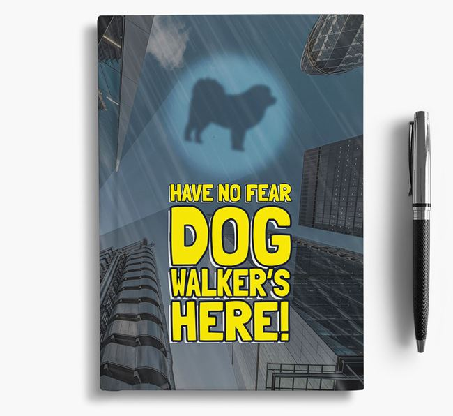 'Have No Fear' - Personalized Pyrenean Mastiff Notebook