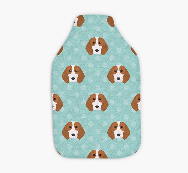Hot Water Bottle with Beagle Yappicons