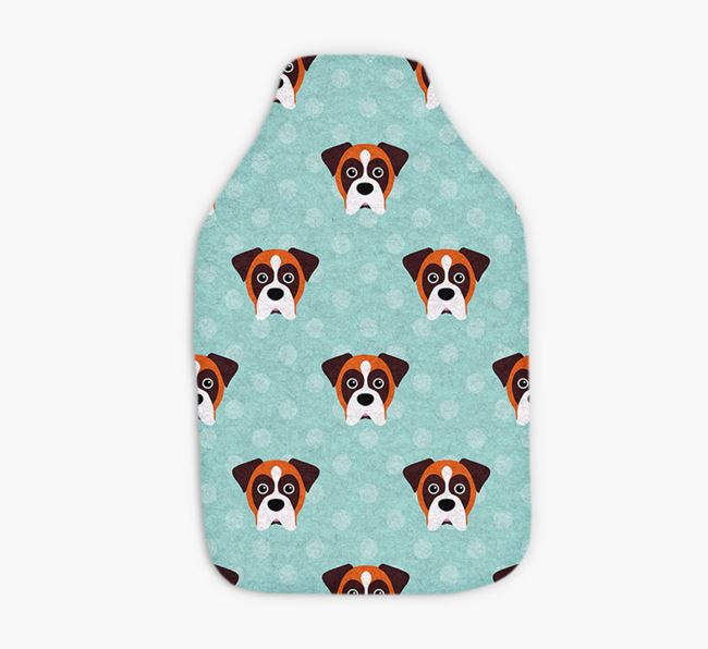 Hot Water Bottle with Dog Yappicons