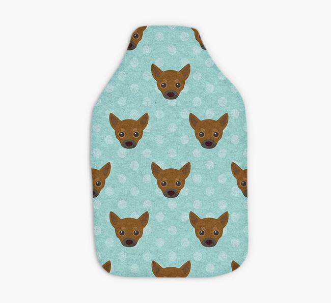 Hot Water Bottle with Chihuahua Yappicons
