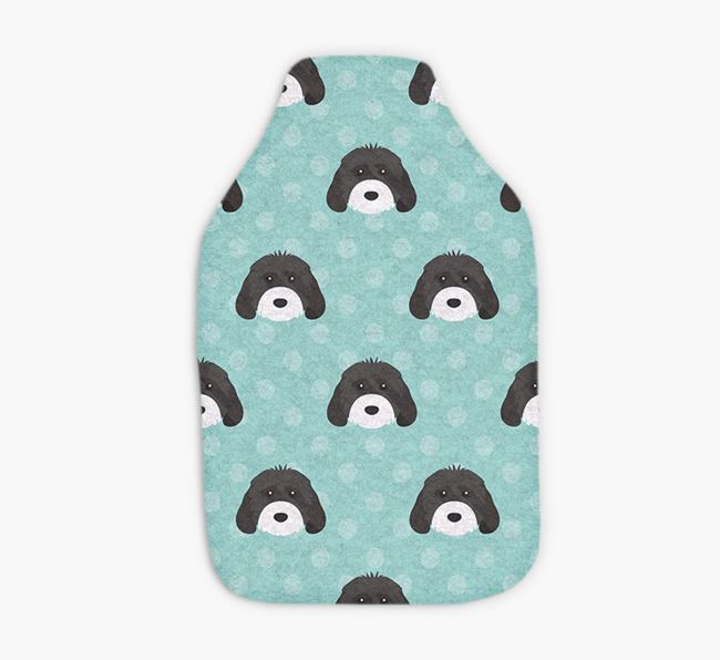 Hot Water Bottle with Cockapoo Yappicons