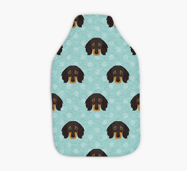 Hot Water Bottle with Dachshund Yappicons