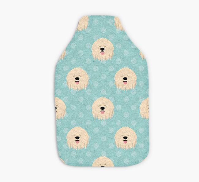 Hot Water Bottle with Komondor Yappicons
