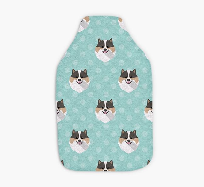 Hot Water Bottle with Pomeranian Yappicons
