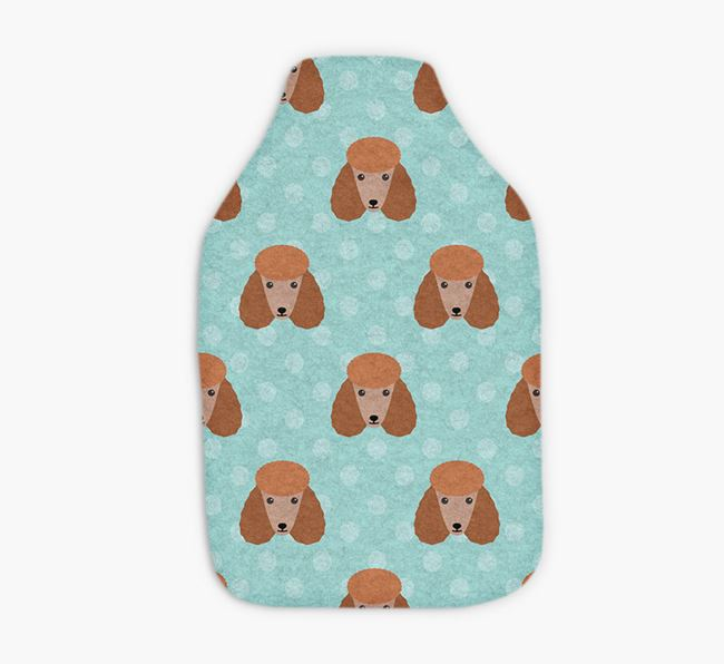 Hot Water Bottle with Poodle Yappicons
