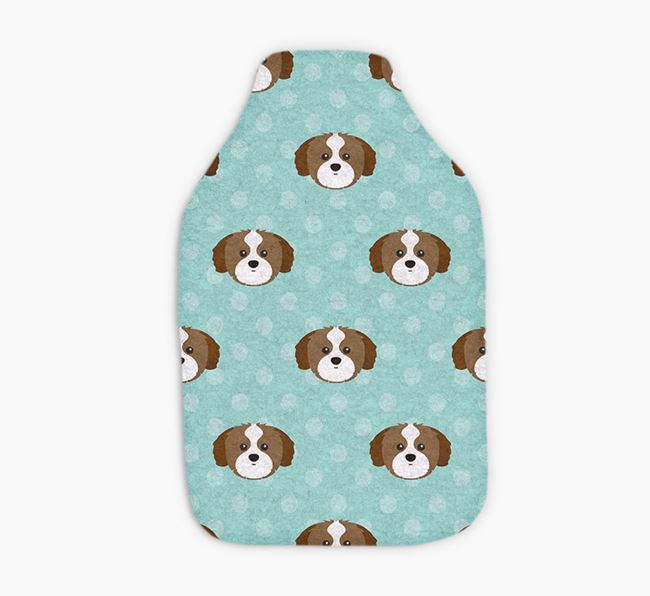 Hot Water Bottle with Shih Tzu Yappicons