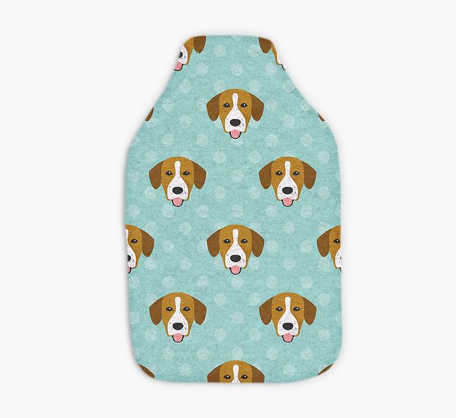Hot Water Bottle with Springador Yappicons