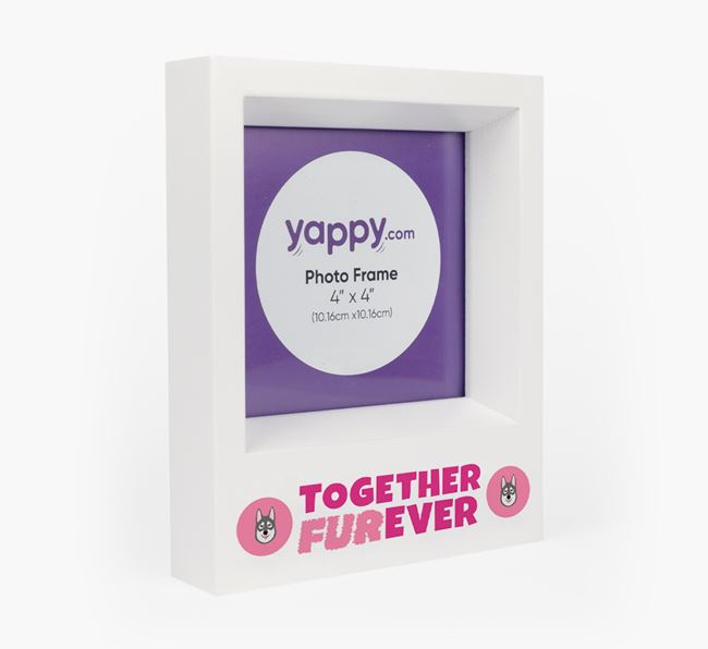 'Together Furever' Photo Frame - Personalised for your Tamaskan