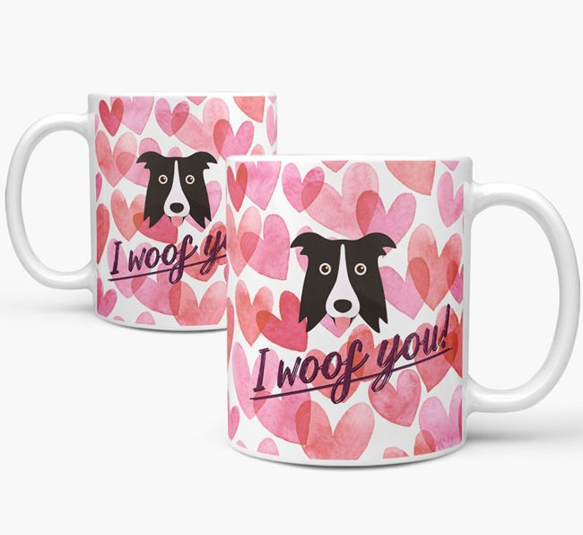 'I Woof You'Dog Icon Mug