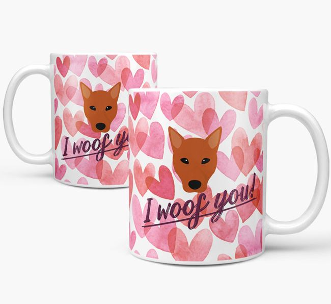 'I Woof You'Canaan Icon Mug