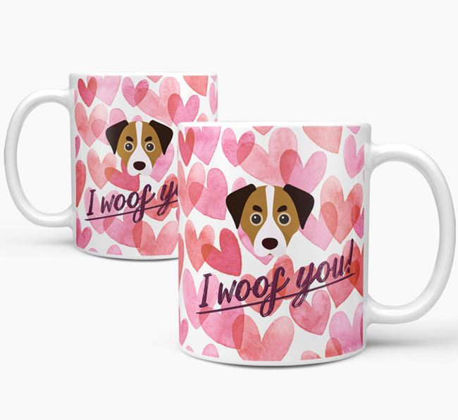 'I Woof You'Cheagle Icon Mug