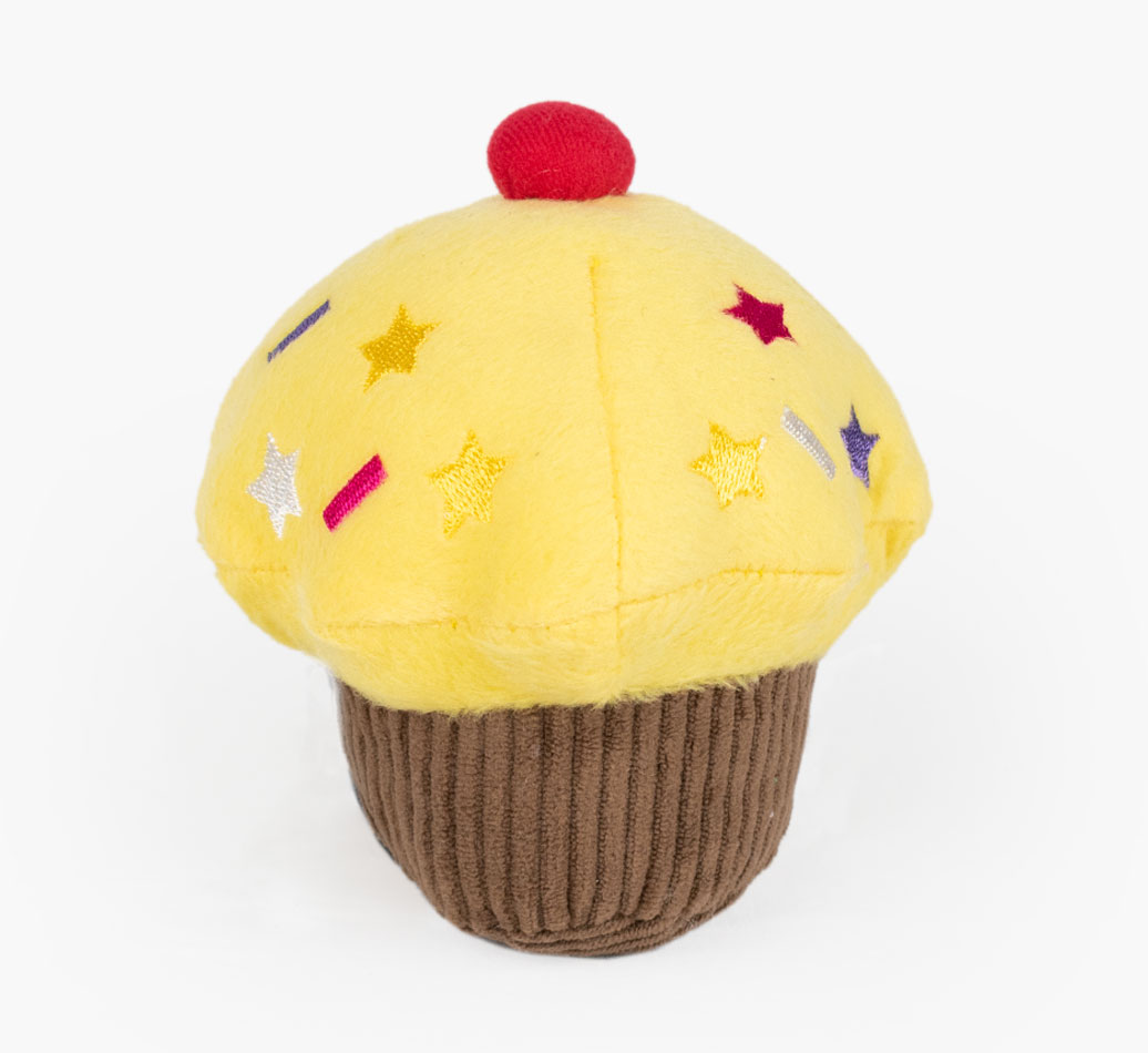 Vanilla Scented Cupcake Dog Toy