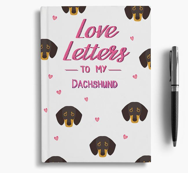 'Love Letters' to my Dog Notebook