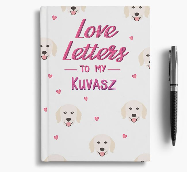 'Love Letters' to my Hungarian Kuvasz Notebook