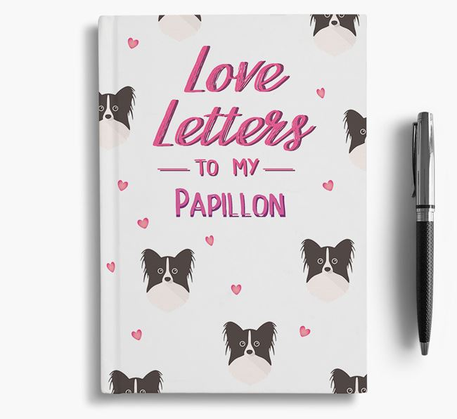 'Love Letters' to my Papillon Notebook