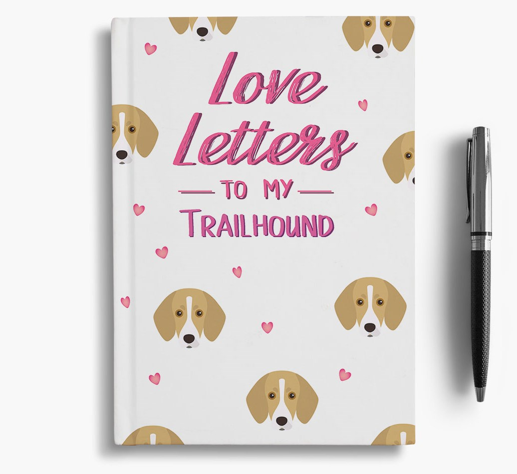 'Love Letters' Notebook for Trailhounds