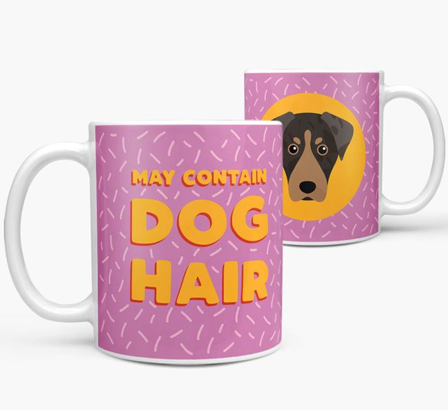 'May Contain Dog Hair' - Personalized American Leopard Hound Mug