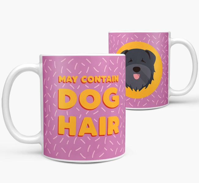 'May Contain Dog Hair' - Personalized Bouvier Des Flandres Mug