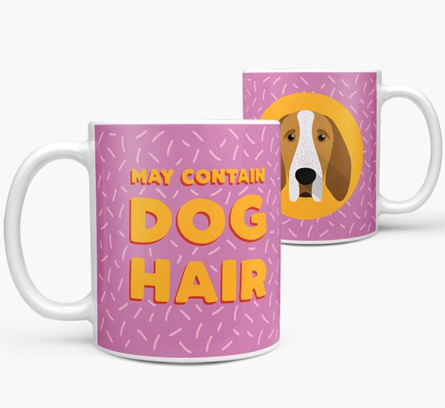 'May Contain Dog Hair' - Personalized Bracco Italiano Mug