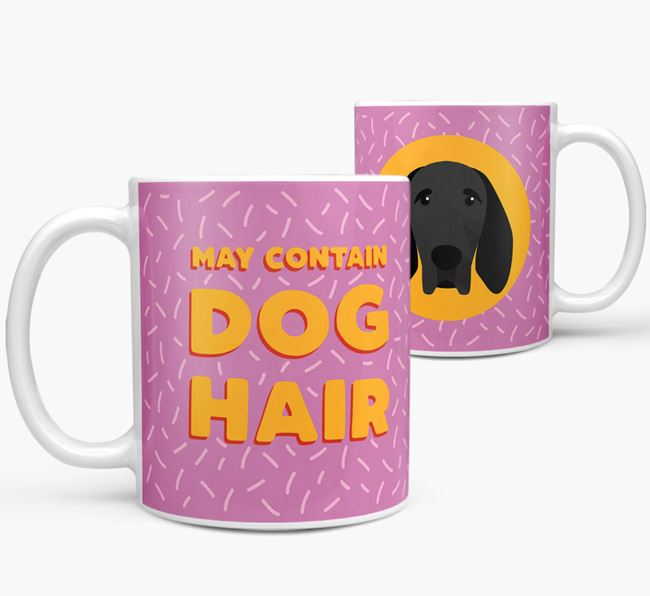 'May Contain Dog Hair' - Personalized Braque D'Auvergne Mug