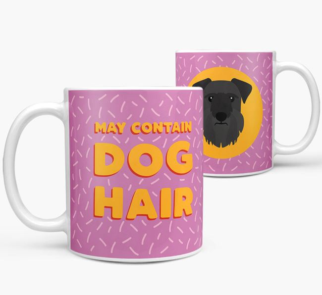 'May Contain Dog Hair' - Personalized Cesky Terrier Mug