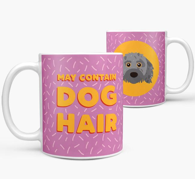 'May Contain Dog Hair' - Personalized Doxiepoo Mug
