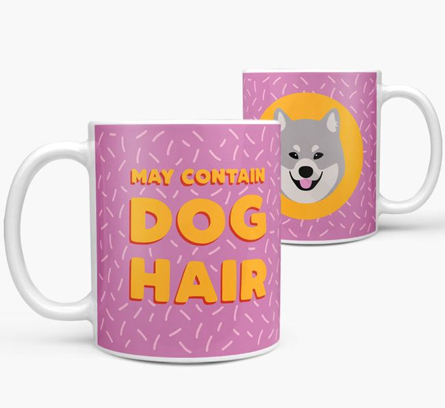 'May Contain Dog Hair' - Personalized Eurasier Mug
