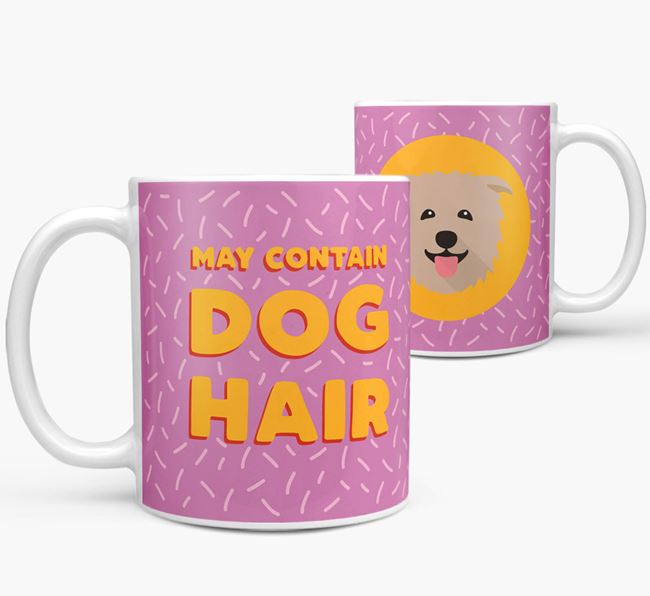 'May Contain Dog Hair' - Personalized Glen Of Imaal Terrier Mug