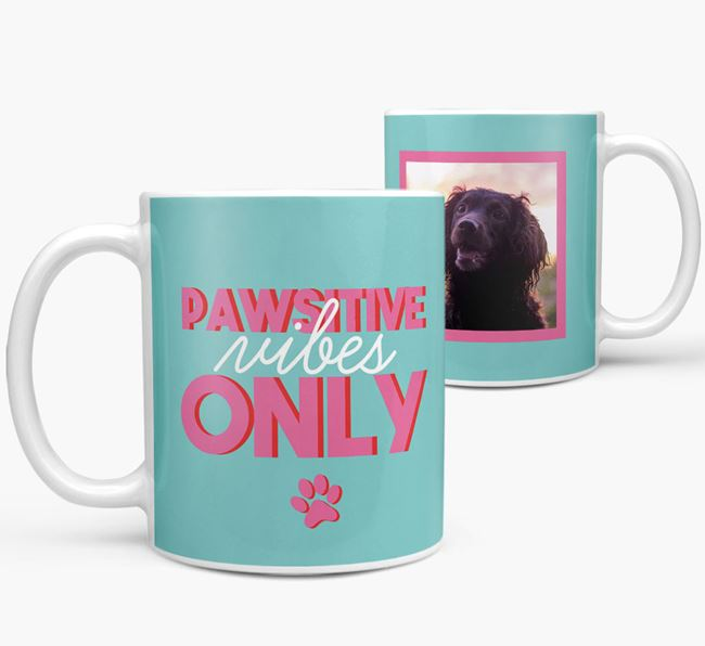 'Pawsitive Vibes Only' - Personalized Sprocker Mug