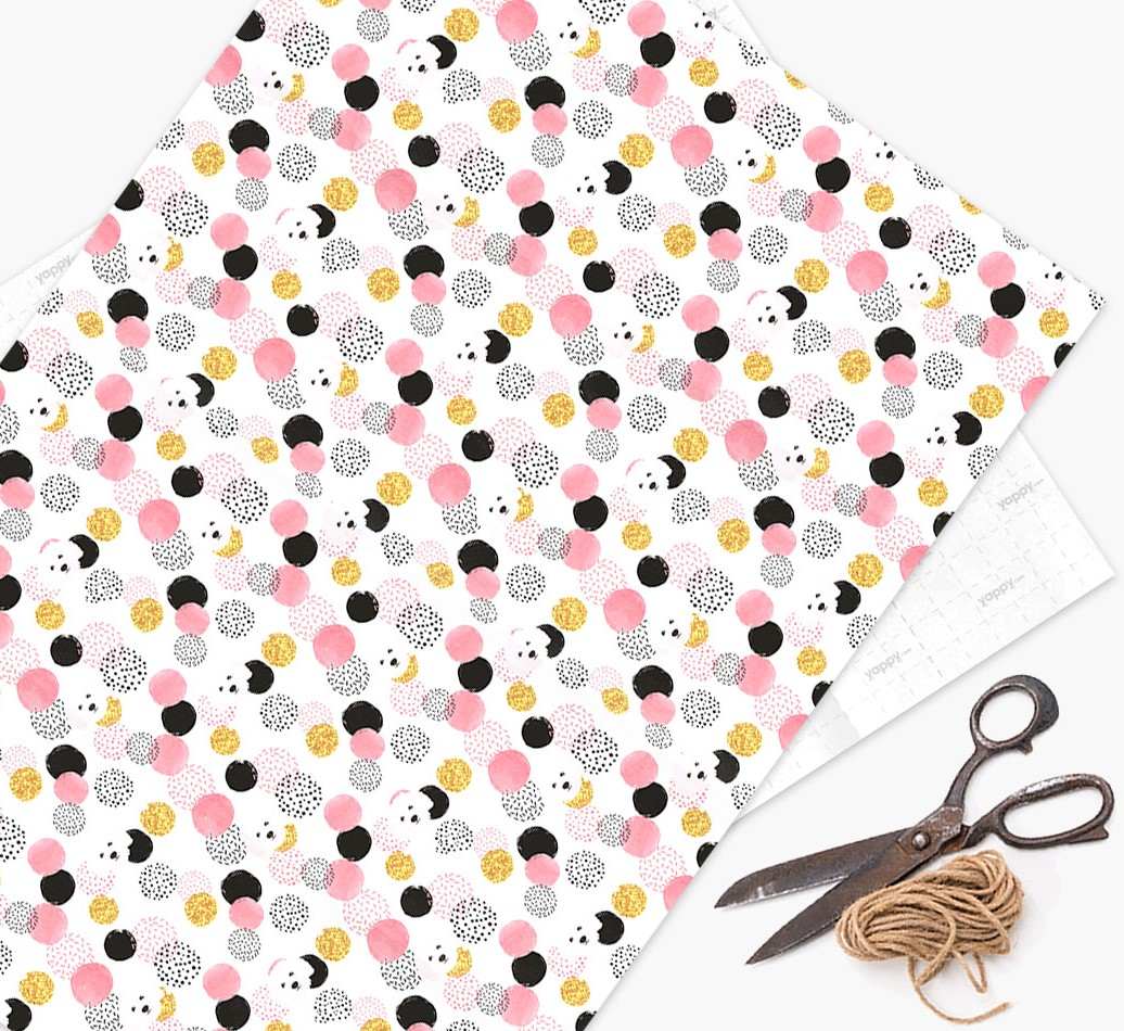 Bolognese Icon Pink Wrapping Paper