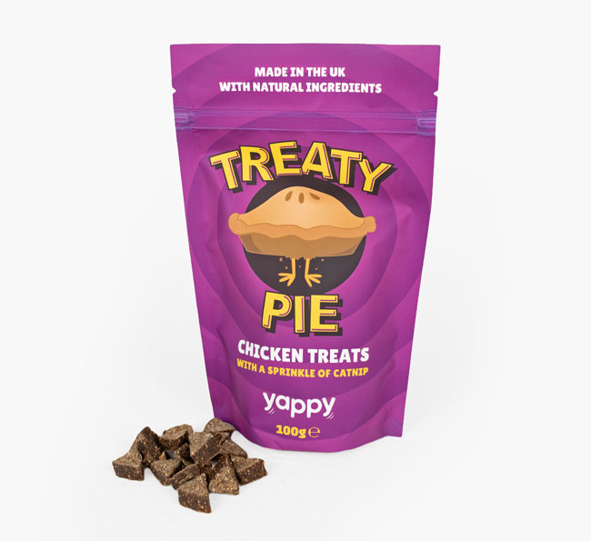 'Treaty Pie' Cat Treat for your Siamese
