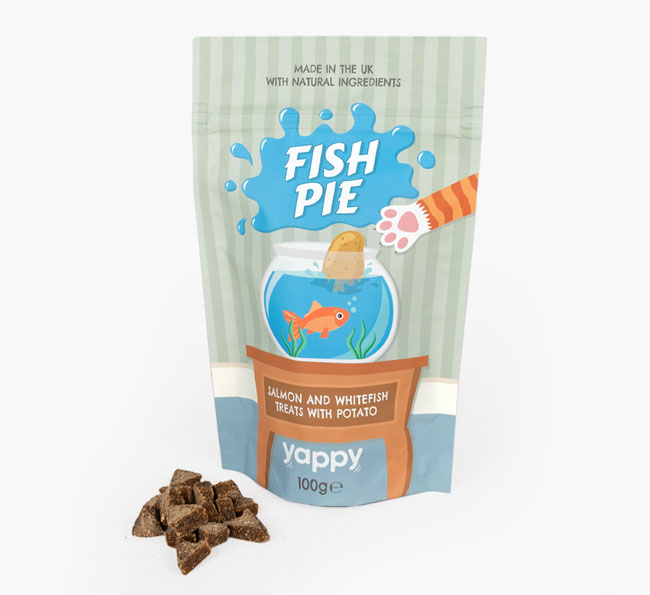 'Fish Pie' Cat Treats for your Siamese