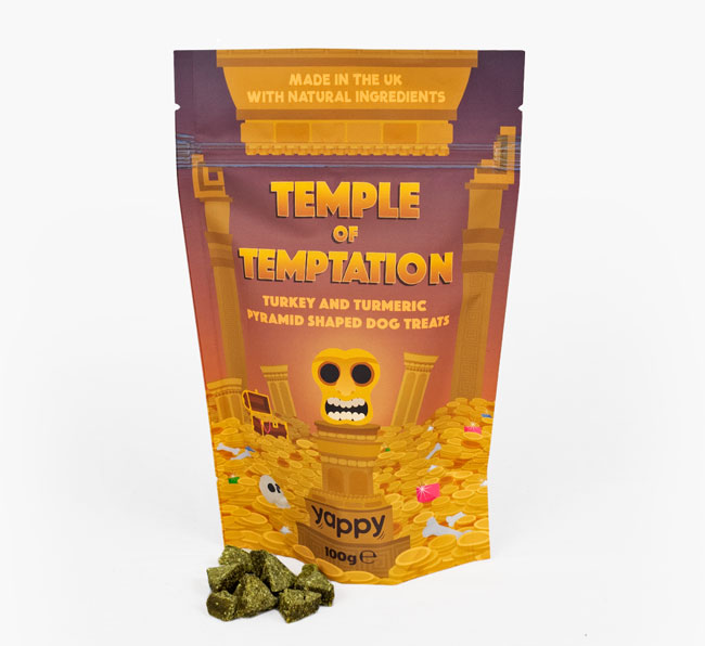 'Temple of Temptation' Dog Treats for your Bassador